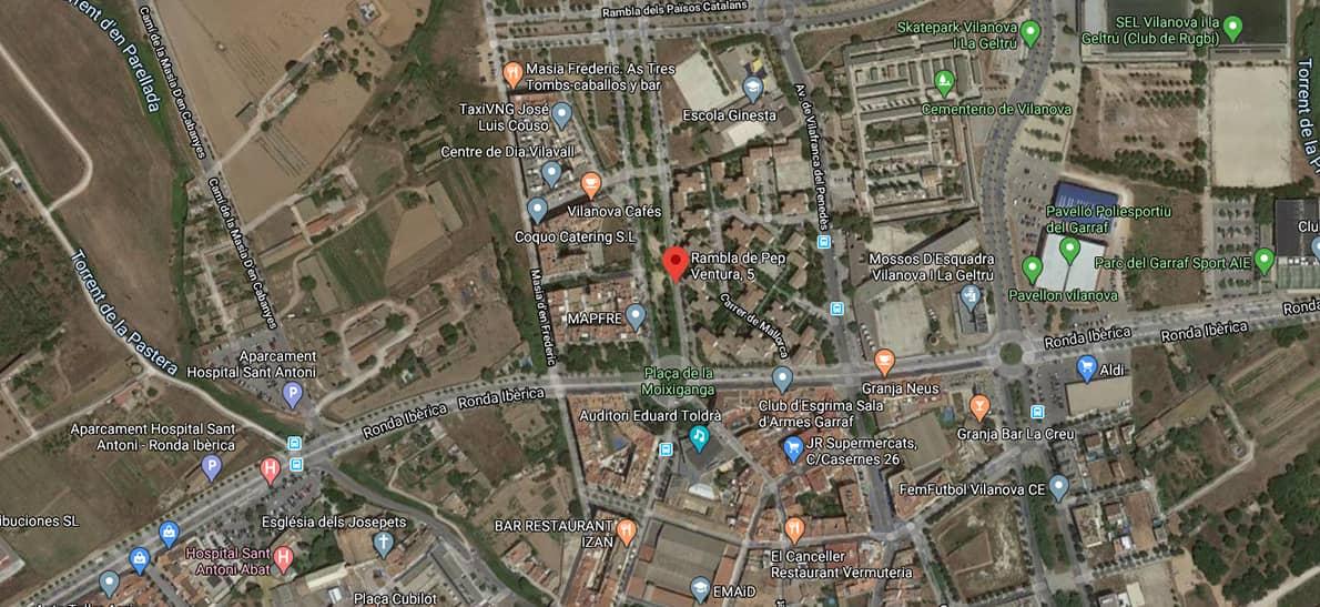 Entorno el Llimonet, pisos obra nueva en vilanova i la geltrú